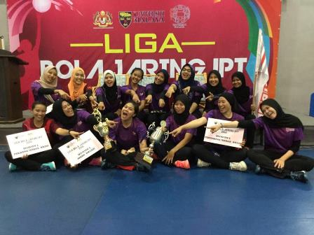 UPM Crowned as Cahmpion in Netball IPT League 2016