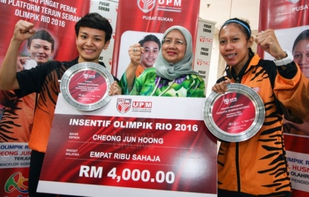 UPM appreciated the UPM Rio Athletes
