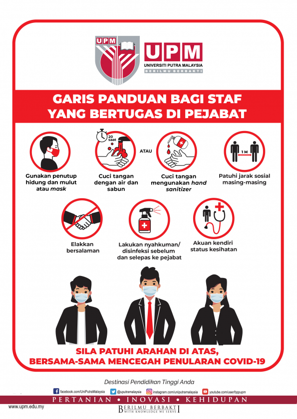 Guideline for Working Staff at Office